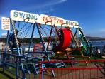 Nostalgic swings, Millport