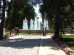 Vasto park, a great place for a picnic (8 mins walk)