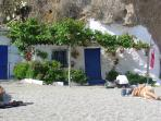 Fishing cottage on the beach in Nerja