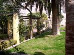 Garden in Palazzo DAvalos (5 mins walk)