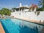 Private pool, overlooked by terraces with wonderful views.