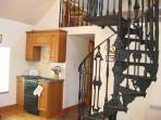 Ploughman's Staircase and part kitchen