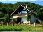 House BELA in a village Bohinjska Bela.