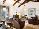 Threshing Barn open-plan lounge/kitchen