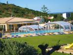 Pool, Gardens & Restaurant