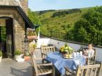 The Roof Terrace - stunning views!