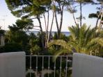 Terraza con vistas al mar