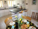 Blackness Barn kitchen/breakfast room