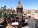 Panoramic Terrace Riad Eloise Marrakech
