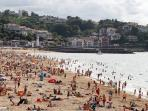 la plage de St Jean de Luz