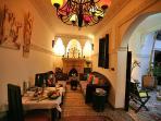 Restaurant Ground Floor with OpenFire Riad Eloise Marrakech