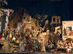 Nativity exhibit