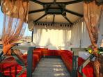Tea Room on panoramic Terrace riad Eloise Marrakech