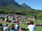 Our Area - Constantia Valley, Concerts at Kirstenbosch Botanical Gardens