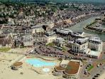 Aerial of Trouville