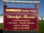 Heated swimming pool, Oasis club house, Dutches tavern, launderette, Fish & chips, Amusements et