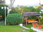 Constantia Cottages - Main Garden, Swing Bench