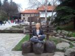 One of the beautiful squares in Bansko old town.