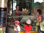Ice creams in Pezenas