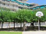 Jardín de los apartamentos