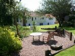 Large mature enclosed rear garden; plenty of space to play and relax