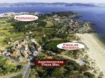 Mapa de situación de Apartamentos Playa Mar, a 75 metros de la Playa de Montalvo