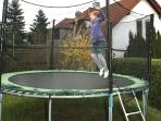 Trampoline notjust for kids