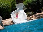 Jumbo Pool with water slide (2 water slide)
