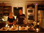 Dinner with your own chef at Villa Sabai Jai