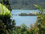Whangamata Vistas has stunning views. Enjoy this outlook from your room.