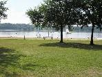 the lake at Ploermel