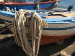 barche di pescatori a Sampieri
