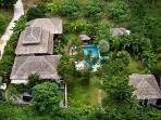 Villa from the sky