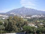 La Concha Mountain from the Apartment