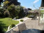 Garden and decking
