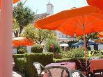 Marbella´s Orange Square in the Old Town