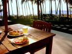 Breakfast on your private terrace.