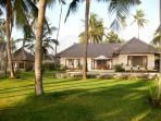 Villa Pantai. Ocean front villa