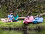 Enjoy a picnic on the shores of the Erne