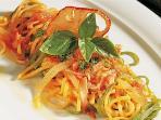 Spaghettoni al pomodoro fresco e basilico