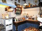 Una cucina della Country House