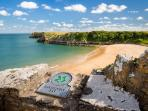 Award winning Barafundle Bay