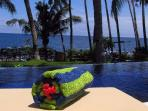 Chillax in your private infinity pool.