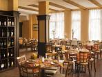 Restaurant in hotel