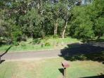 View from front deck across to the beach reserve