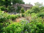 Large garden at Clarks cottage