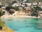 El Portet Bay and Beach , nothing nicer than to sit in the cafes on the waters edge and watch the wo