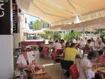 Waterside Dining in Moraira