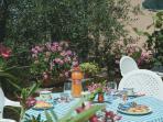 Enjoy an outdoor breakfast!
