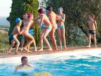 Divertimento a bordo piscina